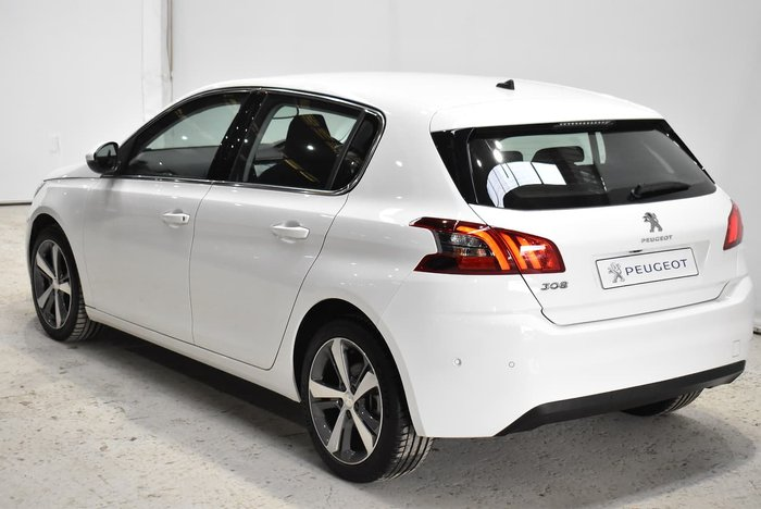 2018 Peugeot 308 Allure T9 MY18 White