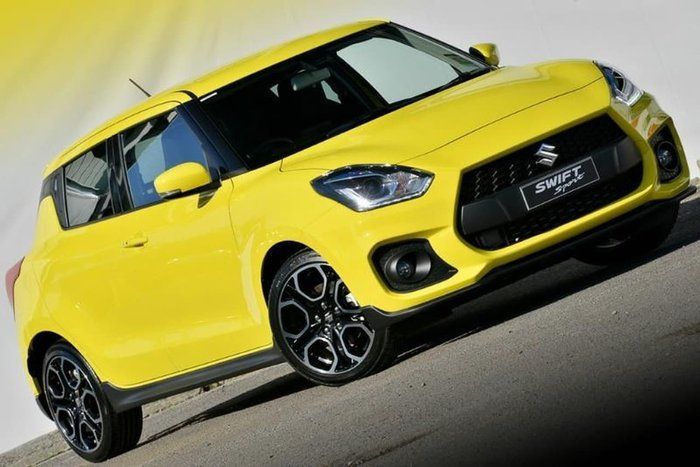 2020 Suzuki Swift Sport AZ Champion Yellow