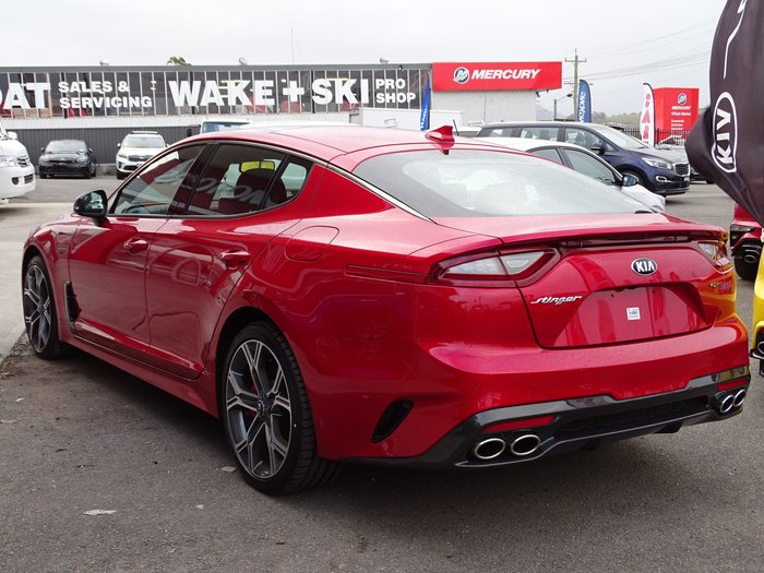 2019 Kia Stinger GT Carbon Edition CK MY20 Red