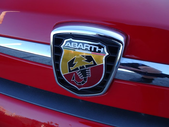 2011 Abarth 695 Tributo Ferrari Series 1 Red