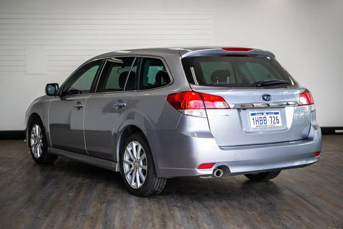 2011 Subaru Liberty 2.5i 5GEN MY12 Four Wheel Drive Silver