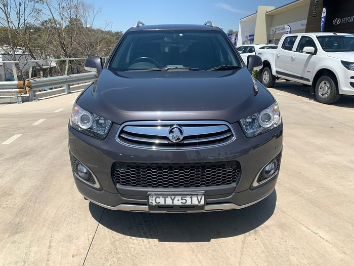 2014 Holden Captiva 7 LTZ CG MY14 4X4 On Demand Grey