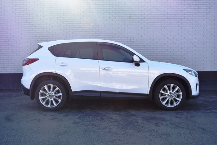 2014 Mazda CX-5 Grand Touring KE Series MY14 4X4 On Demand White