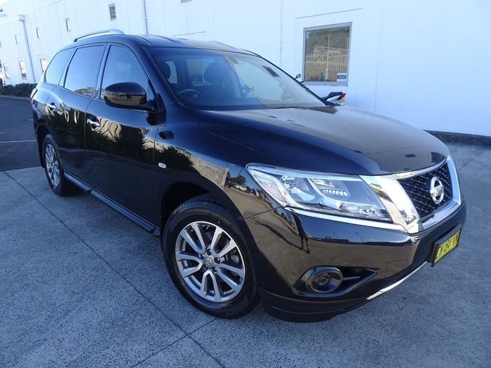 2016 Nissan Pathfinder ST R52 Series II MY17 Black