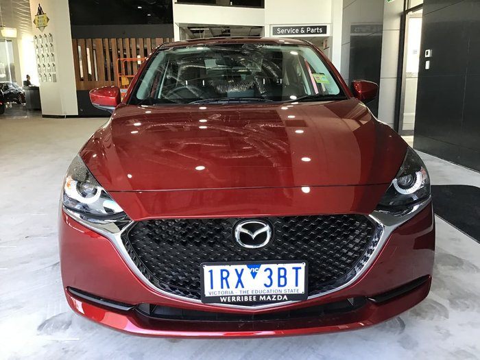 2019 Mazda 2 G15 Pure DL Series Red