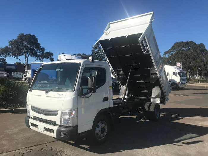 2016 FUSO CANTER 815 WHITE