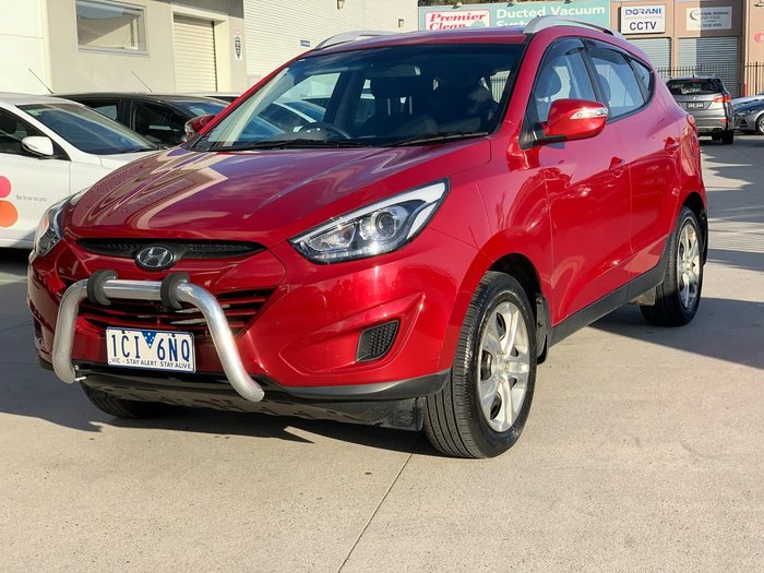 2014 Hyundai ix35 Active Series II Red