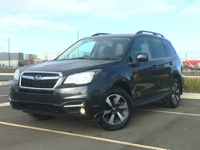 2017 Subaru Forester 2.5i-L S4 MY18 Four Wheel Drive DARK GREY METALLIC