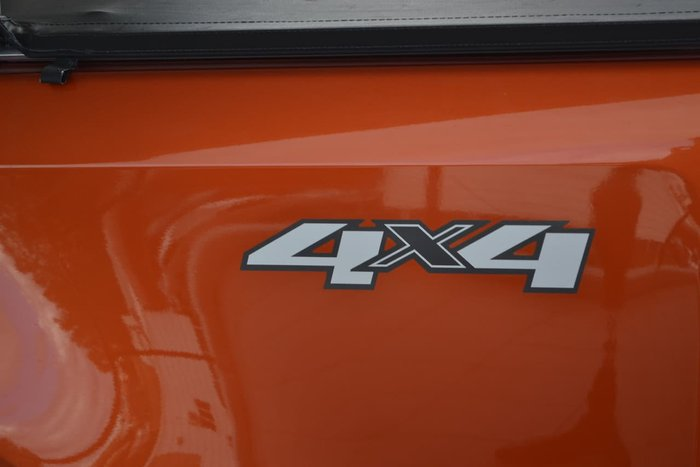 2015 Holden Colorado LTZ RG MY16 4X4 Dual Range Orange