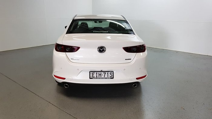 2020 Mazda 3 G20 Evolve BP Series White