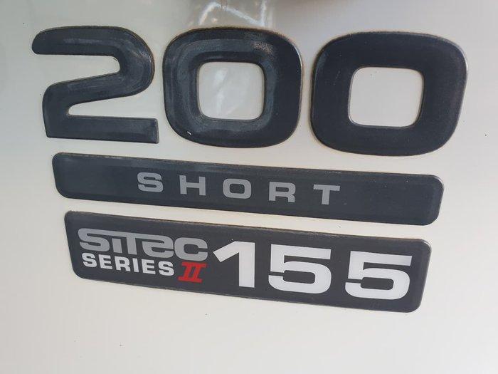 2008 ISUZU NPR200 TIPPER null null White