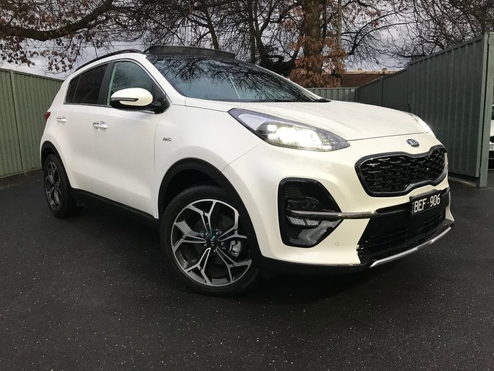 2019 Kia Sportage GT-Line QL MY20 4X4 On Demand White