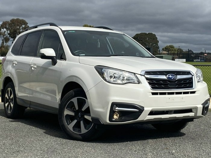 2017 Subaru Forester 2.0D-L S4 MY17 Four Wheel Drive CRYSTAL WHITE PEARL
