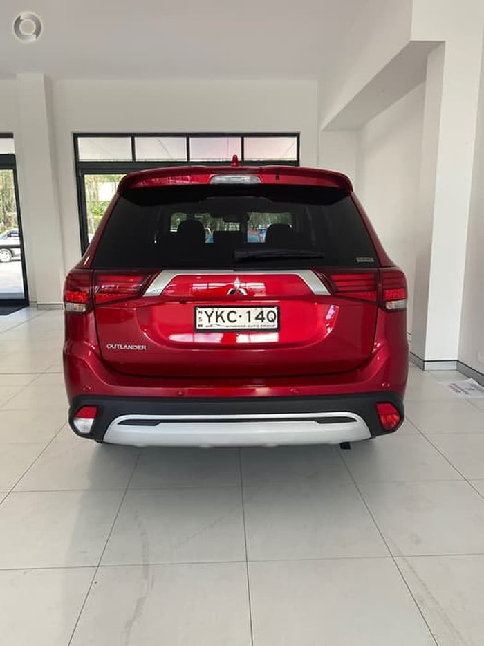 2020 Mitsubishi Outlander Exceed ZL MY20 4X4 On Demand Red