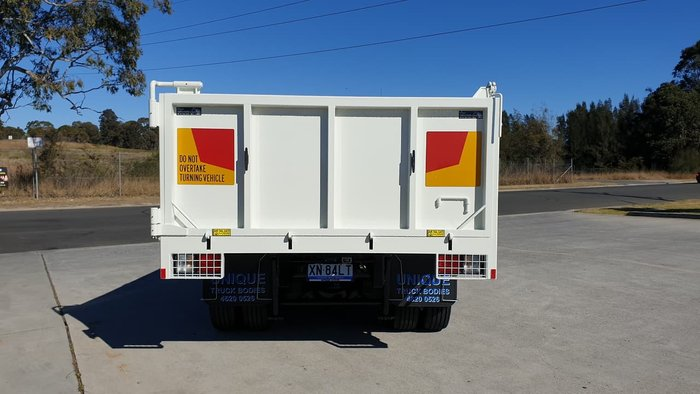 2020 HINO 500 SERIES FE 1426 TIPPER null null White