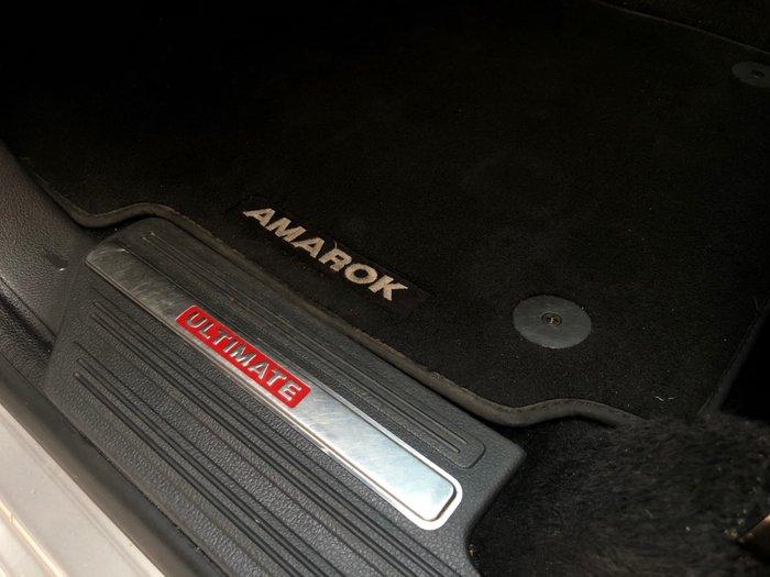 2013 Volkswagen Amarok TDI420 Ultimate 2H MY14 4X4 Constant Silver