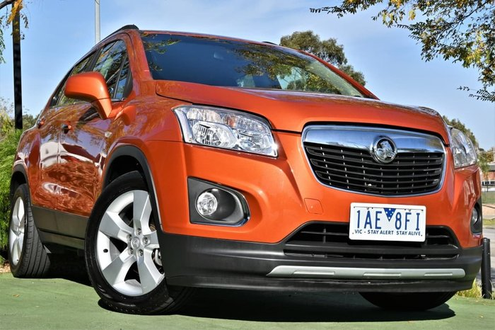 2013 Holden Trax LTZ TJ MY14 Orange