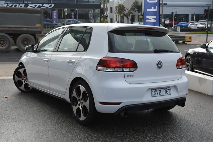 2010 Volkswagen Golf GTI VI MY10 White