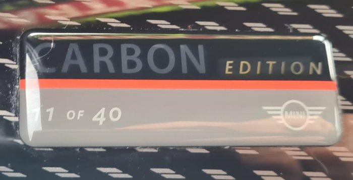 2016 MINI Hatch Carbon Edition F55 Black
