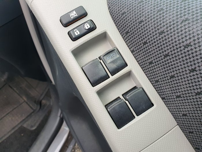 2011 Toyota Yaris YR NCP130R Grey