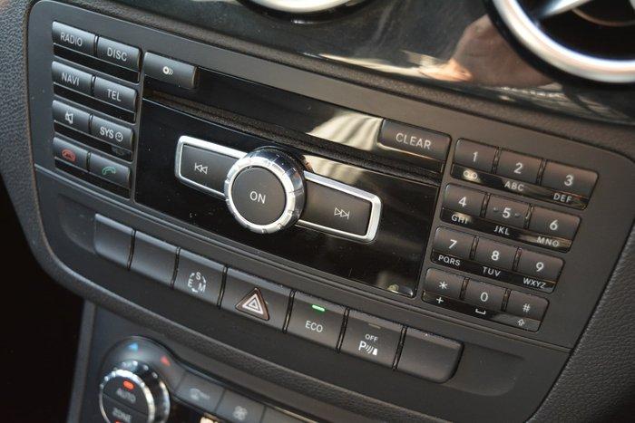 2013 Mercedes-Benz B-Class B200 BlueEFFICIENCY W246 Red