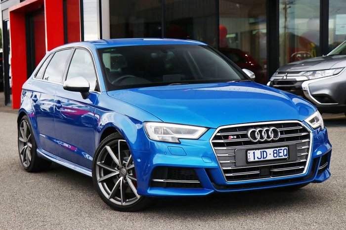 2018 Audi S3 8V MY18 Four Wheel Drive Blue