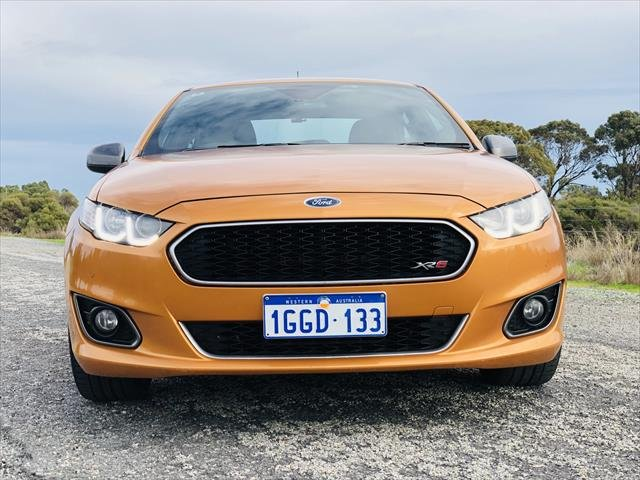 2015 Ford Falcon XR6 Turbo FG X Brown