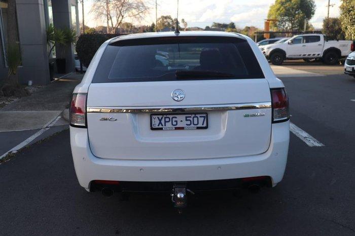 2010 Holden Commodore SV6 VE MY10 White
