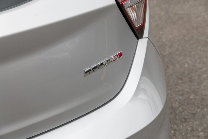 2020 MG MG3 Excite MY20 Silver