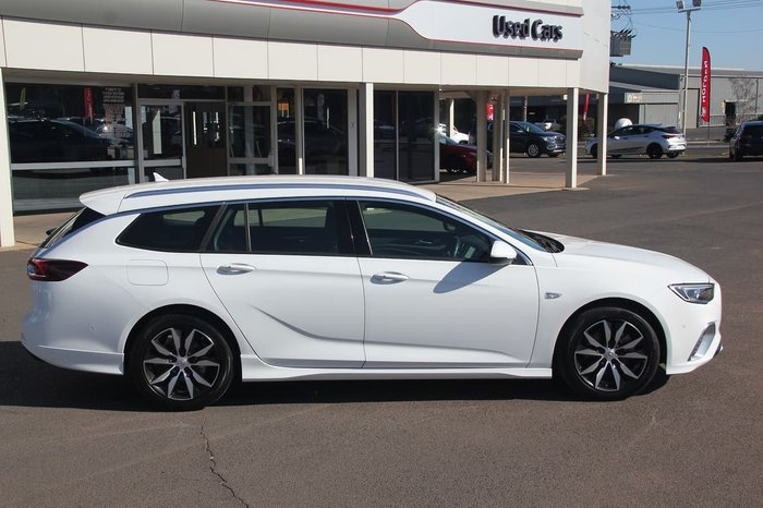 2018 Holden Commodore RS ZB MY19 White