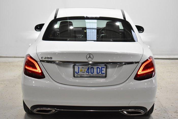 2018 Mercedes-Benz C-Class C200 W205 Polar White