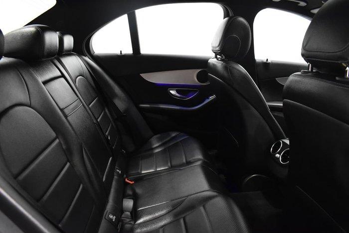 2018 Mercedes-Benz C-Class C200 W205 White
