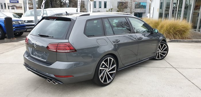 2020 Volkswagen Golf R 7.5 MY20 Four Wheel Drive Grey