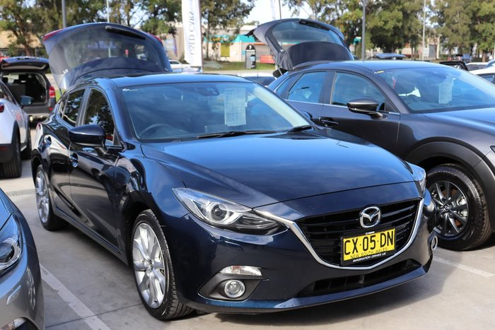 2013 Mazda 3 SP25 Astina BM Series Blue