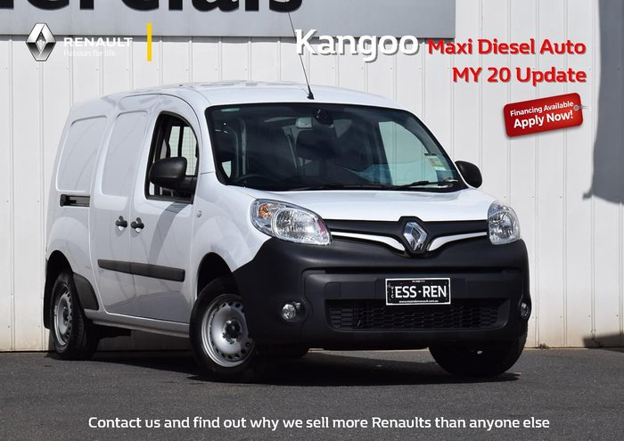 2020 Renault Kangoo Maxi F61 Phase II MY20 White