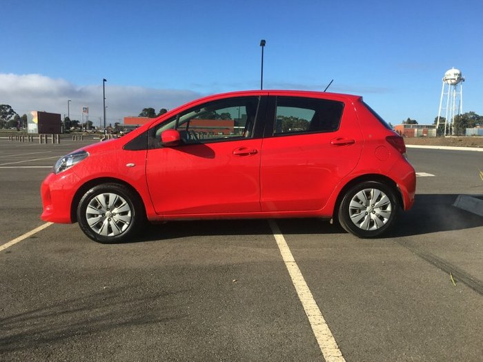 2015 Toyota Yaris Ascent NCP130R RED