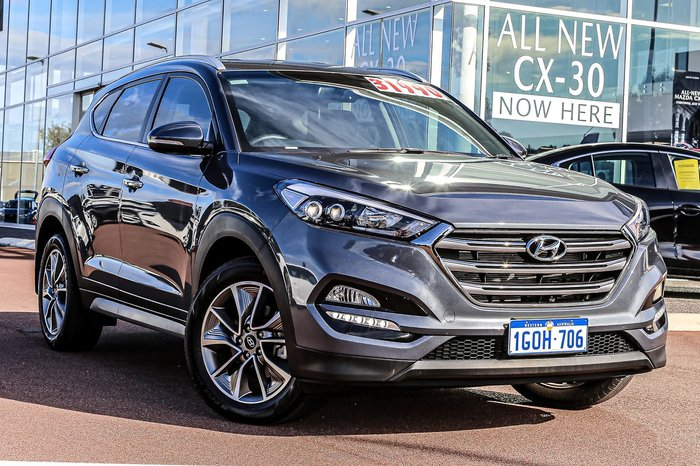2018 Hyundai Tucson Elite TL2 MY18 Grey