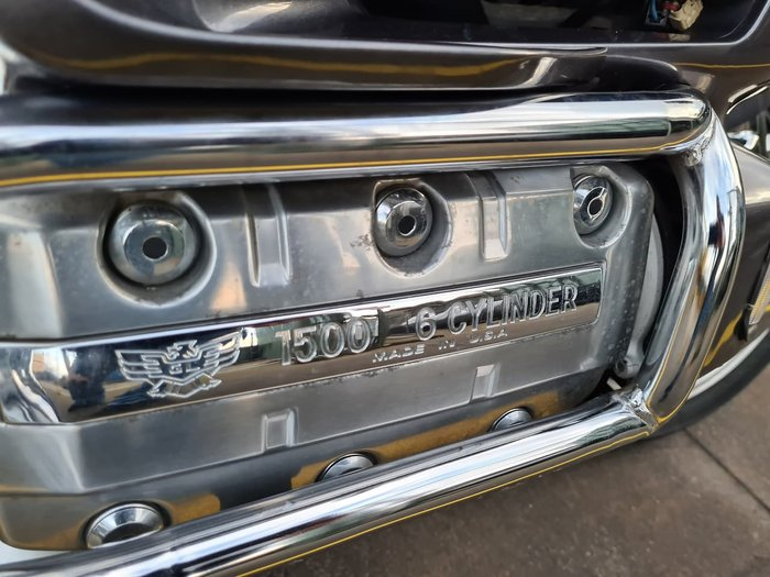 1993 HONDA GOLDWING (GL1500) null null Silver
