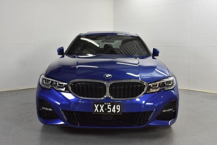 2019 BMW 3 Series 320d M Sport F34 LCI Blue