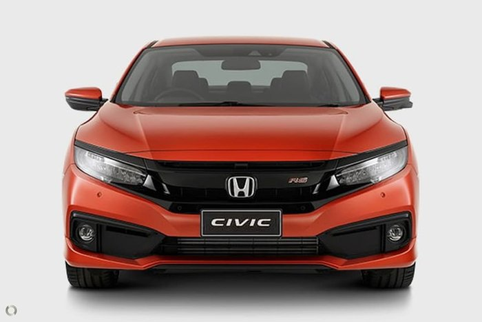 2020 Honda Civic RS 10th Gen MY20 Orange