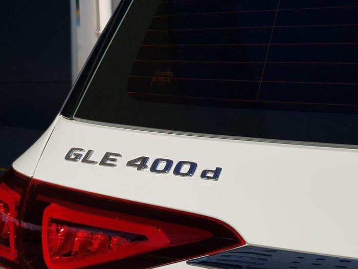 2019 Mercedes-Benz GLE-Class GLE400 d V167 Four Wheel Drive White