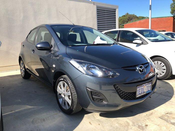2012 Mazda 2 Maxx DE Series 2 MY12 Grey