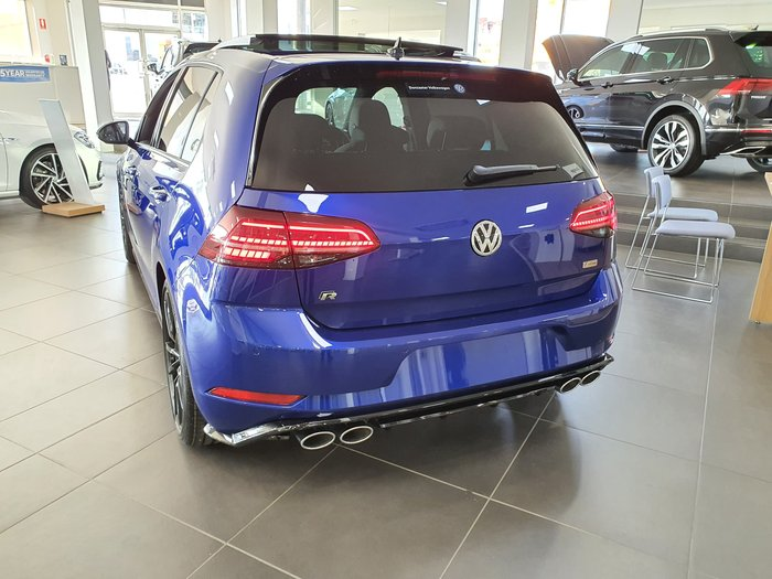 2020 Volkswagen Golf R Final Edition 7.5 MY20 Four Wheel Drive Blue
