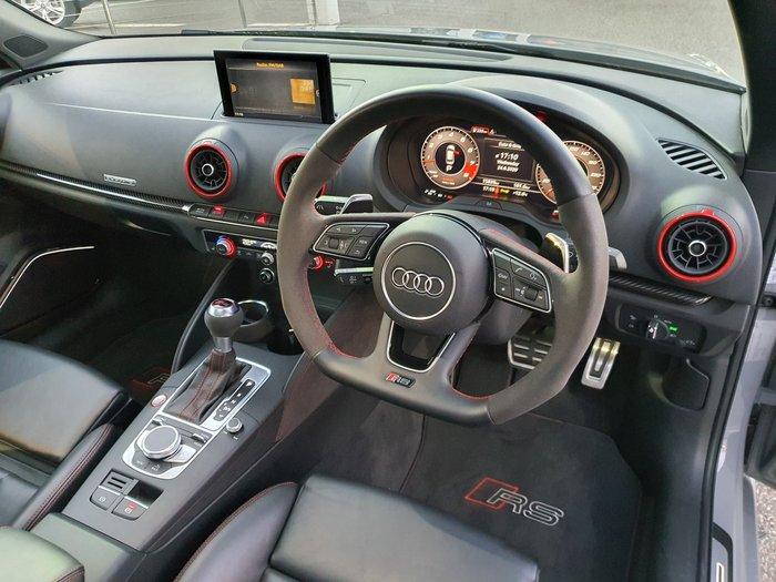 2018 Audi RS3 8V MY18 Four Wheel Drive Grey