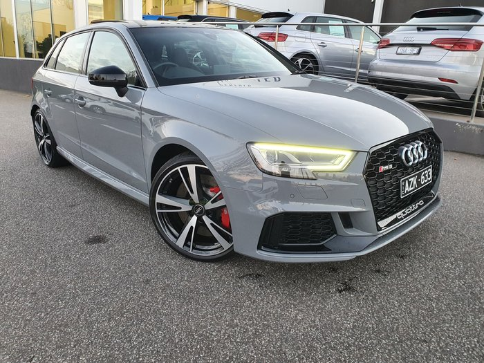2018 Audi RS3 8V MY18 Four Wheel Drive Grey