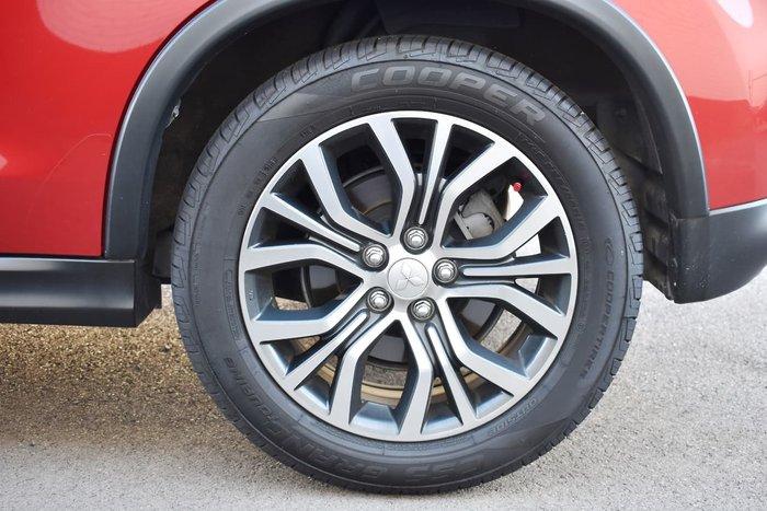 2015 Mitsubishi ASX XLS XB MY15 Red