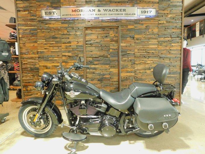 0 Harley-Davidson 2016 HARLEY DAVIDSON 1800CC FLSTFBS FAT BOY S Vivid Black