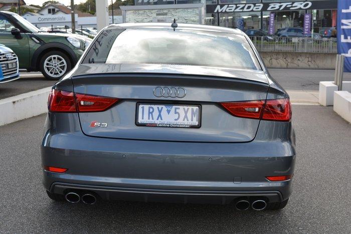 2016 Audi S3 8V MY16 Four Wheel Drive Grey