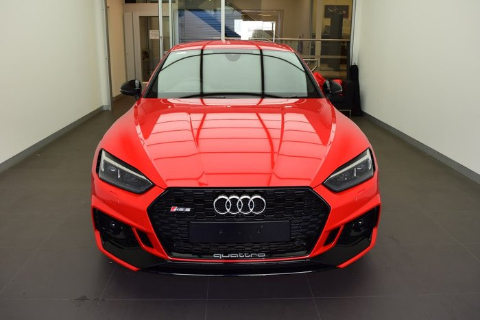 2018 Audi RS5 F5 MY19 Four Wheel Drive Red