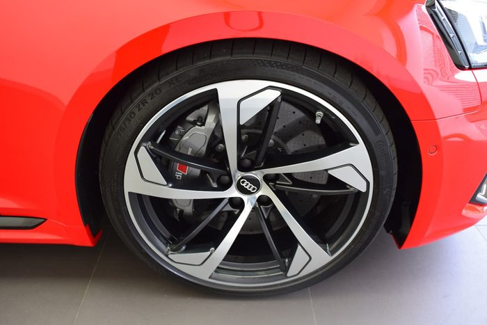 2018 Audi RS5 F5 MY18 Four Wheel Drive Red